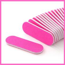 Nail Files 20pcs Sanding Mini Small Colorful Slim Buffer Manicure Polish Art