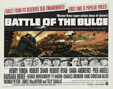 """Battle of the Bulge 16"""" x 12"""" Reproduction Movie Poster"""