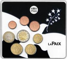 FRANCE Mini Set BU la Paix en Europe 2015