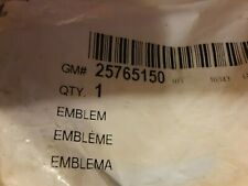 GMC GM OEM 02-05 Envoy XL Front Door-Emblem Badge Nameplate 15123976