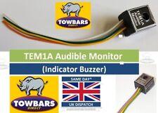 Universal Audible Monitor (Buzzer) Indicator Relay for Towbar Towing Electrics