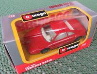 Burago Bburago cod. 4139 -- Ferrari 348 tb, rot 1:43 OVP Box Made in Italy