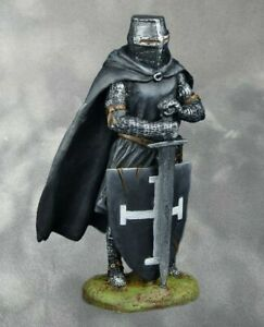 Medieval Knight Teutonic  Teutonic Tin Soldiers  PAINTED.  54mm 1/32