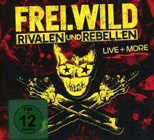 Frei.Wild - Rivalen Und Rebellen Live & More (2CD+DVD Digipak) Ltd. Neuware