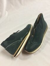 Men's  FTMITM Freeman Plat Zip Jogger,Size 9 Leather,Forest Green EUR Size 42