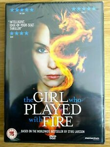 The Girl Who Played With Fire (DVD) New and Sealed