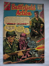 Battlefield Action squad leader #62 Feb.-Mar. 1966 Charlton comic book