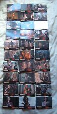 Spartacus Vengeance full set of 30 base cards E1-E30