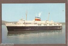 VINTAGE POSTCARD UNPOSTED CAR FERRY BLUNOSE NOVA SCOTIA
