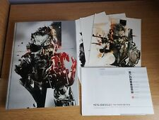 Metal Gear Solid V Collectors Edition Hardback Strategy Guide Complete MGS5