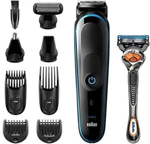Braun Clipper MGK5280 9 IN 1 Set Waxing Body And Hair Clippers Battery