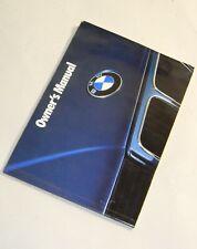 **BMW E34 525i 530i 535i 540i Touring Owners Manual Handbook Service Booklet