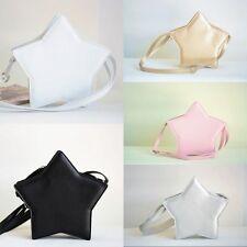 Crossbody Messenger Shoulder Bag Sweet Lolita Mini Star Shape Tote Purse Handbag