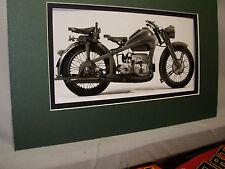 1941 Zundapp KS 600 German  Motorcycle Exhibit From Automotive Museum