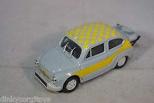 PROGETTO FIAT 600 ABARTH RALLY LIGHT BLUE MINT CONDITION