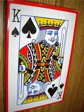 Extra Grande De Cartas De Juego Big Jumbo Gigante Juegos Xl no A4 Puente Poker