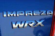 NEW Genuine OEM Subaru Rear Badge Set