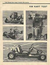 Vintage 1963 Rupp Lancer Go-Kart Test Report