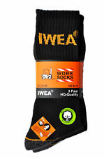 IWEA Arbeitssocken Freizeitsocken Herrensocken Sportsocken 3 Paar Gr. 39-50