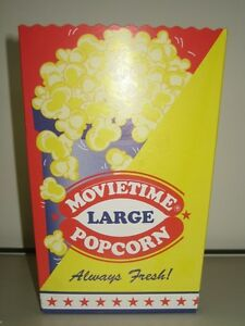 Popcorn Cartons Large 75 gm size 400 per outer