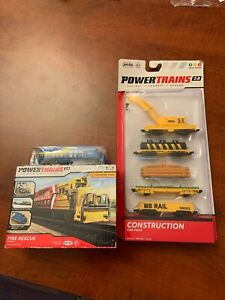 Jakks Pacific Power Trains 2.0 Construction Engine And Car Pack NIB NEW
