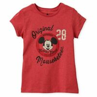 Disney Store Mickey Mouse Club Mouseketeer T Shirt Girls Size 2/3 7/8