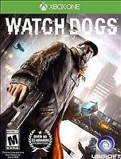 Watch Dogs (Microsoft Xbox One, 2014) BRAND NEW SEALED