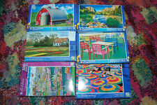 Lot of 6 Puzzlebug & Artbox Jigsaw Puzzles 500 Pieces