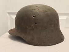 Original Wwii Spanish M42 Battle Worn Modelo Z Helmet
