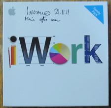 IWork v9.0.3 family pack Mac OS 10.4.11 10.5.6+ mb943z/a Original Software