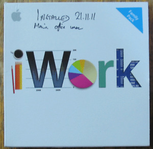 iWork v9.0.3 Family Pack Mac OS 10.4.11 10.5.6+ MB943Z/A genuine software