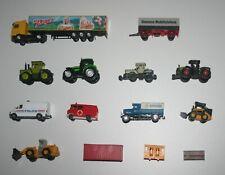 Train-Ho - Décor - voiture , tracteur , engin de chantier , camion --