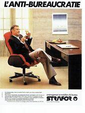 PUBLICITE ADVERTISING 027  1979  Aménagement & mobilier bureau  Strafor