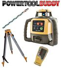 Topcon RL-H5A Laser Level + LS-80L Receiver, Nedo Tripod & Staff B40