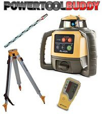 Topcon RL-H5A Laser Level+LS-80L Receiver, Nedo Tripod & Staff Next Day Delivery