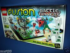 21205 Lego FUSION Battle Towers App Included ~ NIB