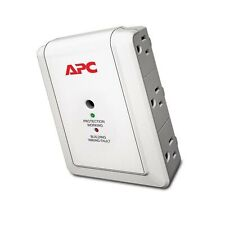 APC 6-Outlet Wall Surge Protector 1080 Joules, SurgeArrest Essential (P6W)