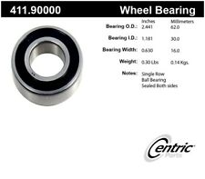 Axle Shaft Bearing-Premium Bearings Rear Inner,Rear Outer Centric 411.90000