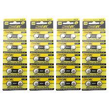40 pcs AG4 D377 L626 SR66 SR626SW 1.5V Alkaline Button Cell Battery HyperPS