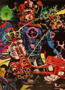 "JACK KIRBY GALACTUS  PRINT 11 x 17""  Fantastic Four Universe"