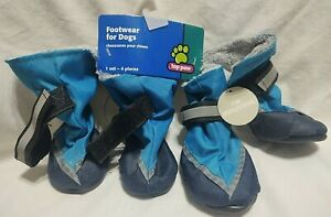 New Top Paw Reflective Booties size small Footwear for Dogs rubber soles NWT