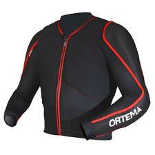 Ortema Ortho-Max Chaqueta Protectora Negro/Rojo Talla XL Enduro Moto Downhill