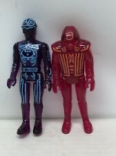 Vintage Tron And Red Warrior NM With Great Paint With Disc Complete.