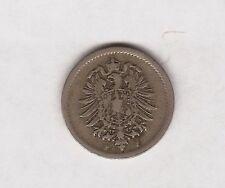 1875 GERMAN 5 PFENNIG COIN