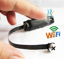 New Spy Nanny CAM wireless WIFI IP Pinhole DIY small screw camera mini micro dvr