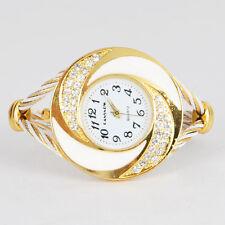 Fashion Rhinestone watches for women Crystal Quartz Bracelet Bangle Wrist Watch