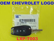 2016 Chevrolet Cruze Switchblade Flip Key Remote 13588756 LXP-T003 315MHz OEM GM
