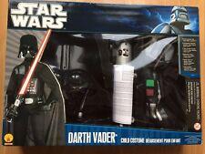 Rubies Guerra De Las Galaxias Darth Vader Atuendo Con Máscara Y Sable De Luz-Grande