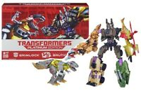 Hasbro Transformers Platinum Edition Grimlock Vs Decepticon Bruticus Figure Set
