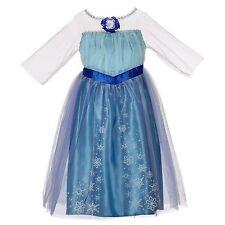 New Disney FROZEN ELSA DRESS -- Costume Size 4 - 6X  Ages 3+